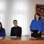 Відкриває зустріч головний бібліотекар відділу читального залу Оксана Содомора