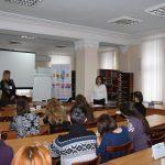 Людмила Рюміна, завідувач відділу читального залу Тернопільської ОУНБ