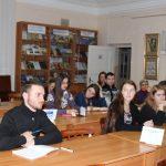 Учасники круглого столу — студенти Тернопільських вишів