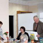 Наталя Білянська, провідний бібліотекар відділу міського абонементу подякувала автору за його плідну творчість та професійну лікарську допомогу багатьом людям