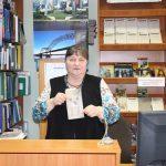 Оксана Гавенко — ведуча заходу, головний бібліотекар відділу міського абонементу