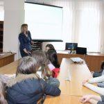 Олександра Гриньків з презентацією «Проблеми гендерної рівності в Україні»