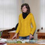 Ю. Бондючна — провідний фахівець сектору екологічної освіти Кременецького ботанічного саду