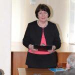 Ведуча заходу — Тетяна Ковалькова, завідувачка відділу міського абонементу
