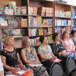 Учасники семінару для завідувачів відділів обслуговування центральних бібліотек