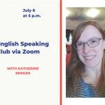 English Speaking Club via Zoom